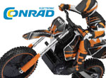 Conrad Electronic Dirtbike Nervenkitzel auf zwei Rädern