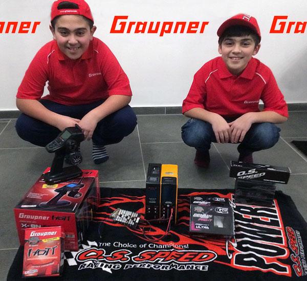 Graupner Kilic Brüder goes Team Graupner