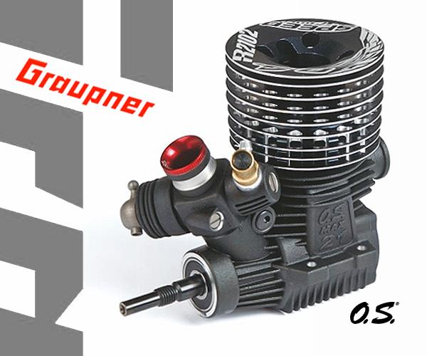 Graupner OS MAX SPEED R2102