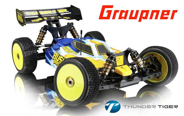 Graupner TT Bushmaster 8E 1:8 4WD Buggy