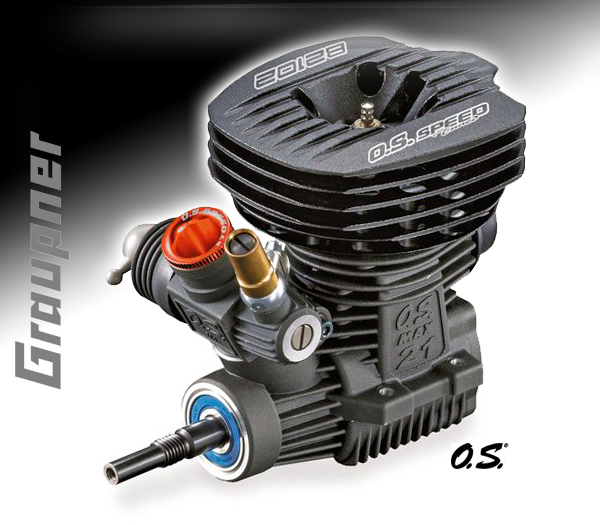 Graupner O.S. Speed B2102 Low Profile´