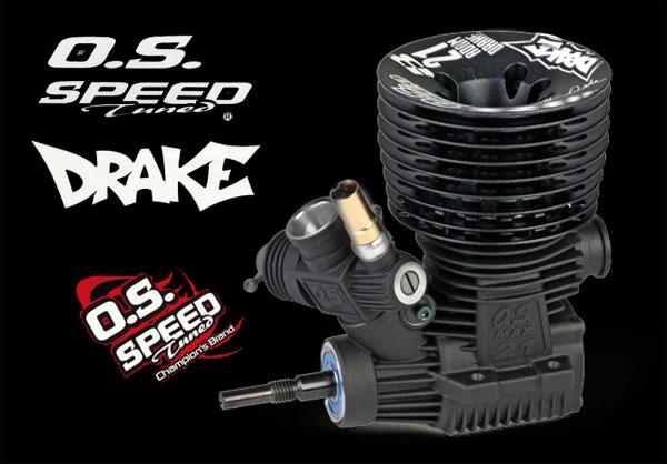 Graupner O.S. Speed B21 Adam Drake Edition