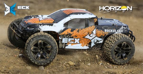 Horizon Hobby ECX® Ruckus® MT 4WD V4 RTR