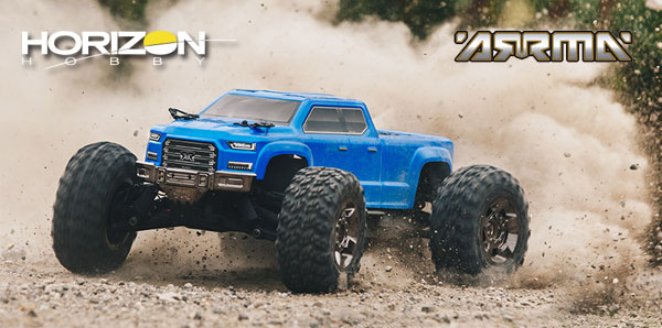 Horizon Hobby Big Rock Crew CAB 4x4 3S BLX