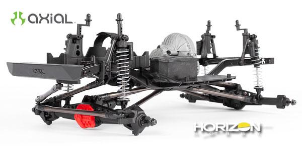 Horizon Hobby Axial® SCX10™ II Raw Builders Kit