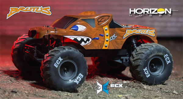 Horizon Hobby Brutus 2WD MT Brushed RTR 1/10