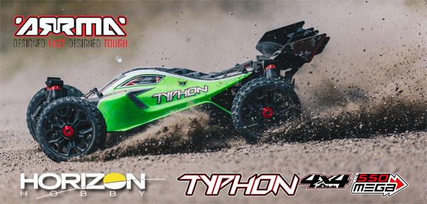 Horizon Hobby TYPHON 4X4 Mega 550 Speed Buggy