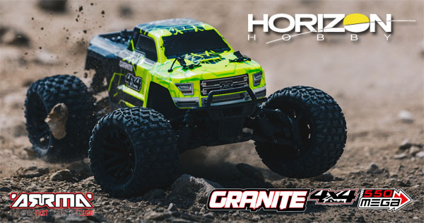 Horizon Hobby GRANITE 4WD Brushed Monster Truck