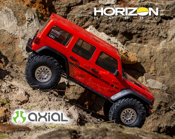 Horizon Hobby SCX10III Jeep Wrangler w/Portals RTR