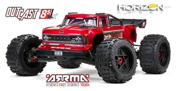 Horizon Hobby OUTCAST™ 1/5 8S BLX 4WD Stunt Truck