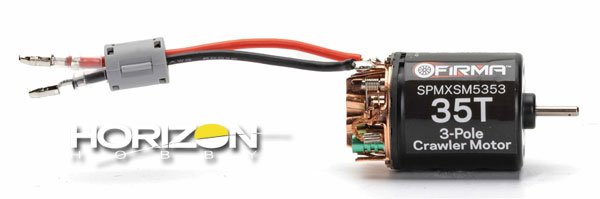 Horizon Hobby Spectrum Firma Crawler Motors