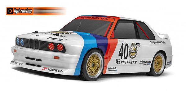 HPI Racing ´87 WARSTEINER BMW E30