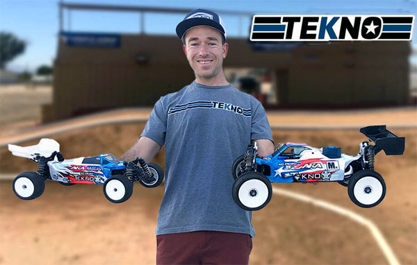 International Jared Tebo goes Tekno RC