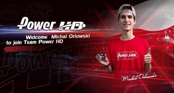 International Michal Orlowski mit Power HD
