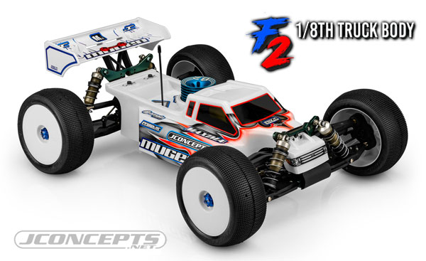 JConcepts  F2-8th Scale Truck Body