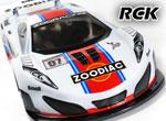 RC-KleinKram ZooDiac  1:10 GT Karosserie 190mm