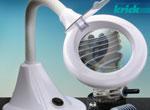 Krick Tischlupenlampe Mini Flex Neck