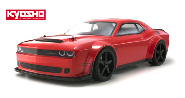 Kyosho Europe Inferno GT2 VE Dodge Challenger SRT