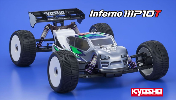 Kyosho Europe Inferno MP10T Truggy 1:8 GP 4WD
