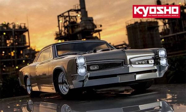 Kyosho Europe 1967 Pontiac GTO Readyset