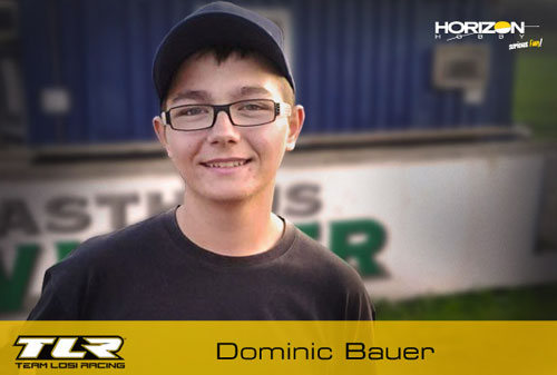 Horizon Hobby D. Bauer goes Team Losi
