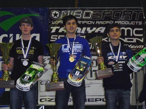 LRP R. Völker wieder Europameister Indoor TC!