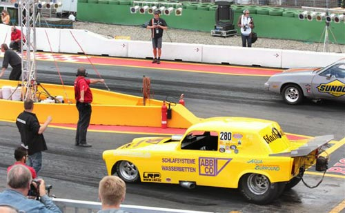 LRP Dragster-Action