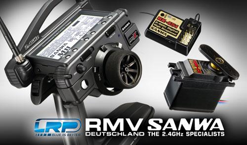 LRP RMV-Team wählt Sanwa
