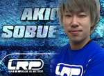 LRP Akio Sobue mit Blue Power unterwegs!