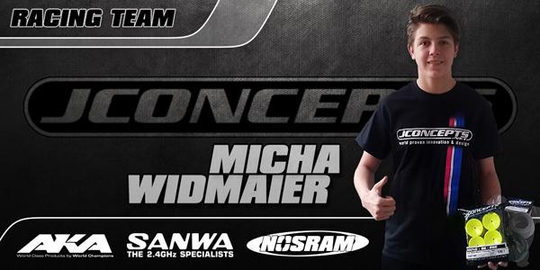 LRP M.Widmaier im JConcepts Racing Team!