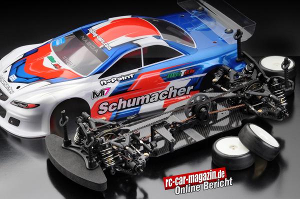 rc-car-magazin Test Schumacher MI7 / CS.electronic
