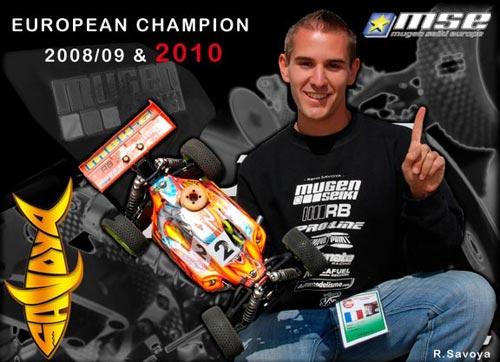mse distribution Renaud Savoya ist Europameister 2010