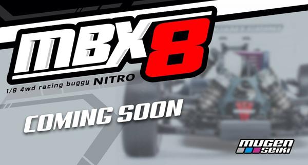 Mugen Seiki Europe Mugen MBX8 Coming soon