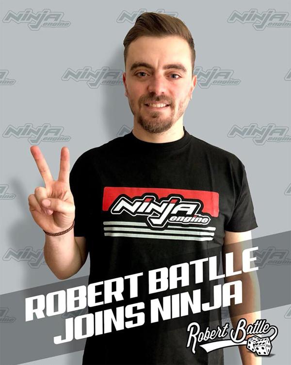 Mugen Seiki Europe R. Batlle setzt auf Ninja Engines
