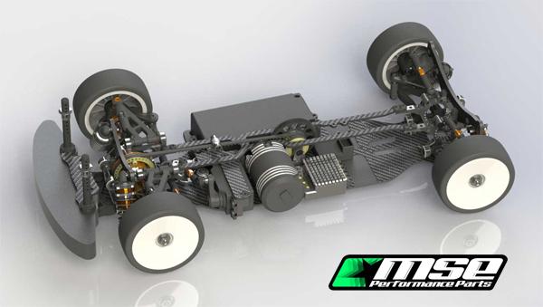 Mugen Seiki Europe MSE Performance Parts MTC1 FWD U-Kit