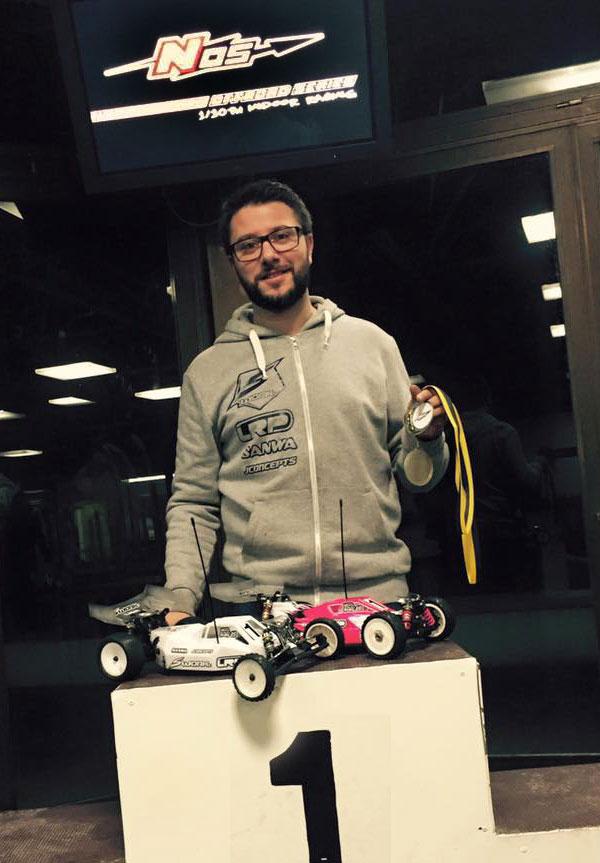 MW RC-Cars C.Hahlen gewinnt NOS Hallenrennen
