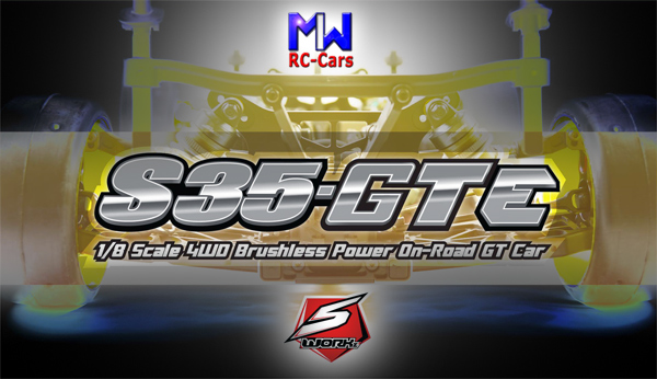 MW RC-Cars SWORKz S35-GTe coming soon
