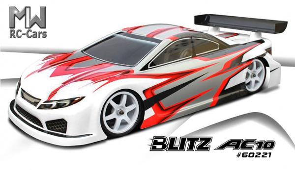 MW RC-Cars Blitz AC10 190mm Karo