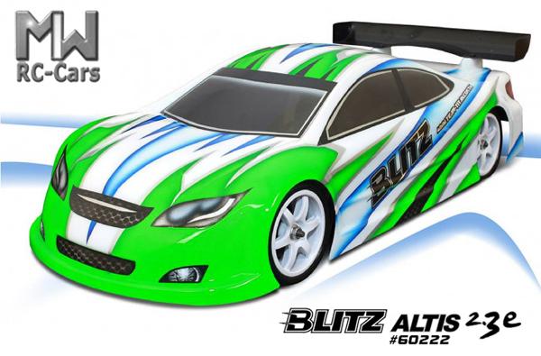 MW RC-Cars Blitz ALTIS 2.3e 190mm Karo