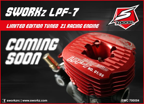 MW RC-Cars SWORKz LPF-7 Engine Limited Edition