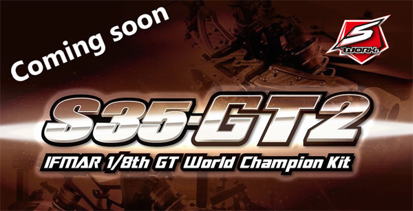 MW RC Products S-Workz S35 GT2 World Champion kit