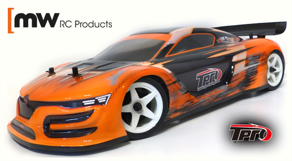 MW RC Products TPRO GT3 Touring Car Karo 1/10