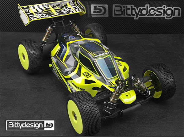 MW RC Products SWORKz 1/8 Karo VISION Elo
