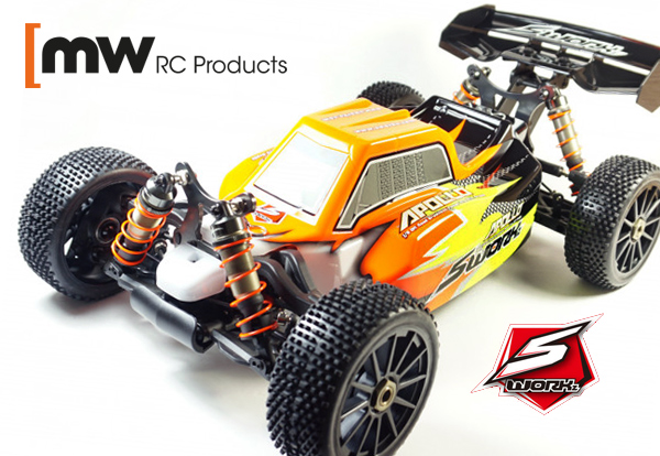 MW RC Products SWORKz Apollo 1/8 BL Pro Buggy RTR