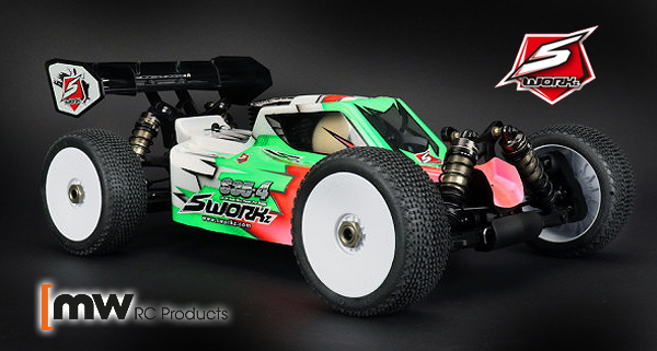 MW RC Products SWorkz S35-4 1/8th nitro buggy kit