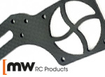 MW RC Products S35-4E Carbon Ventilatorhalterung
