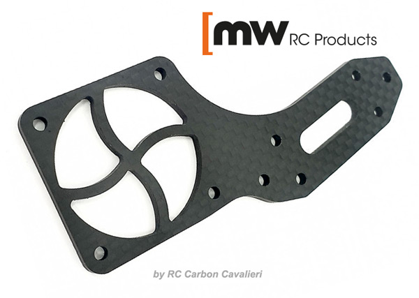 MW RC Products S35-4E Carbon Ventilatorhalterung