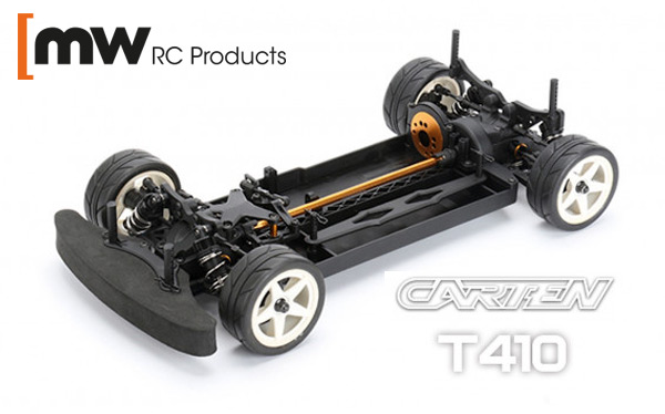 MW RC Products CARTEN T410 4WD Touring Car ARTR