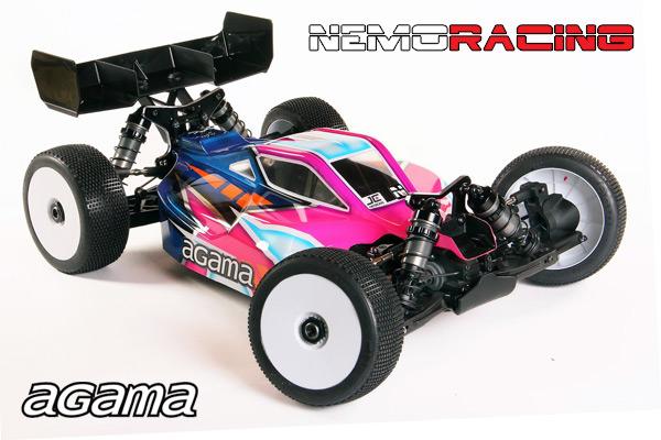 Nemo Racing Agama A319E E-Buggy-Kit 1:8