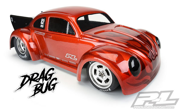 Pro-Line VW Drag Bug 1:10 Clear Body